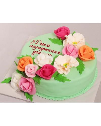 """Торт """"Святковий"""" №607"""