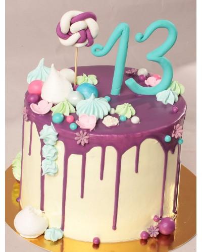 """Торт """"Святковий"""" №640"""