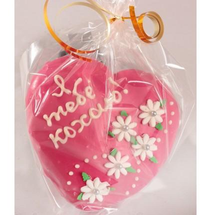 """Подарунок """"Серце медове в глазурі"""""""