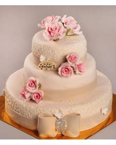 """Торт """"Весільний"""" №100"""