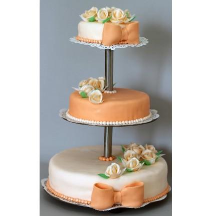 """Торт """"Весільний"""" №107"""