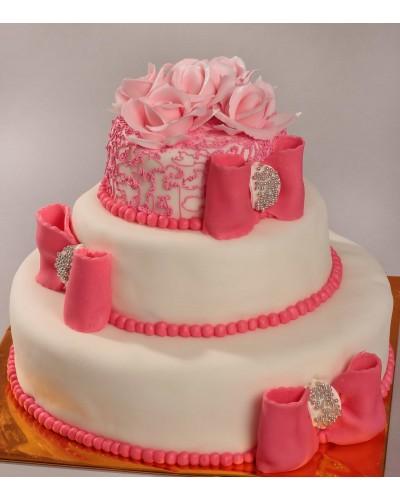 """Торт""""Весільний"""" №112"""