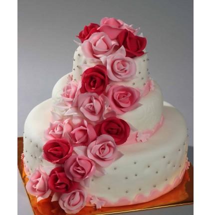 """Торт""""Весільний"""" №113"""