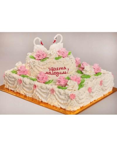 """Торт """"Весільний"""" №115"""