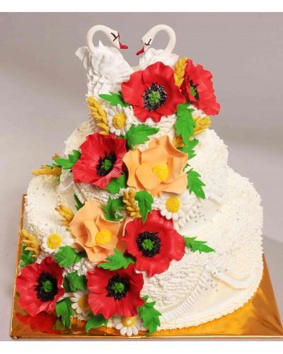 """Торт""""Весільний"""" №118"""