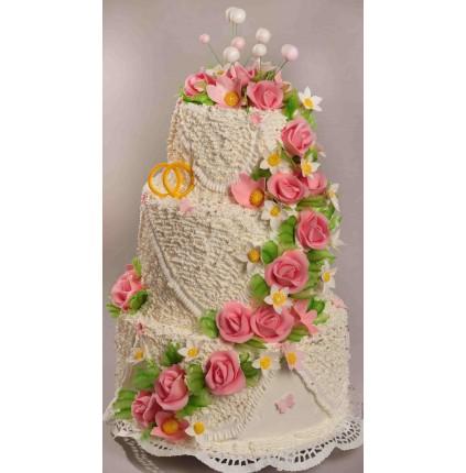 """Торт""""Весільний"""" №122"""