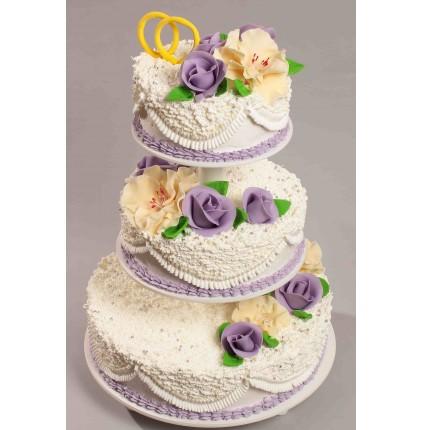 """Торт """"Весільний"""" №145"""