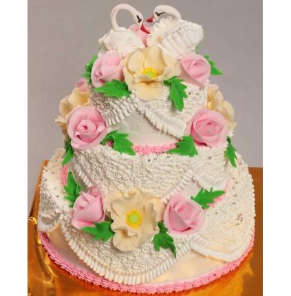 """Торт """"Весільний"""" №146"""