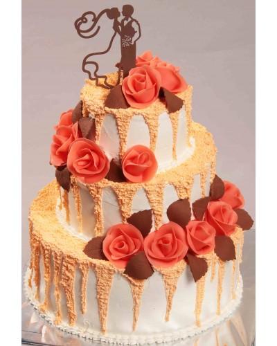 """Торт """"Весільний"""" №152"""