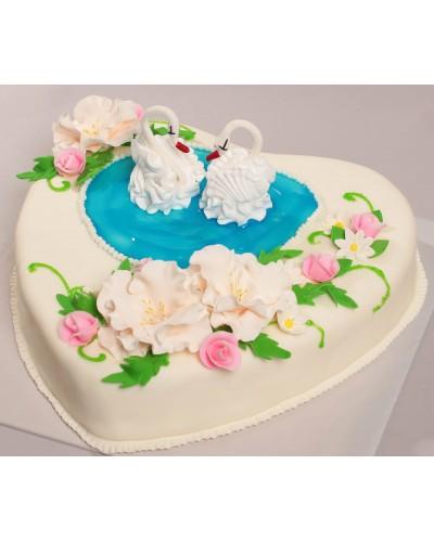 """Торт""""Весільний"""" №154"""