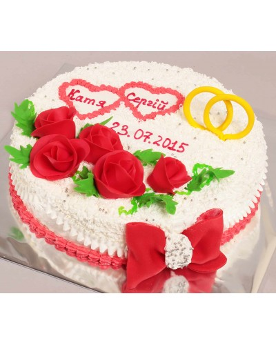 """Торт """"Весільний"""" №155"""