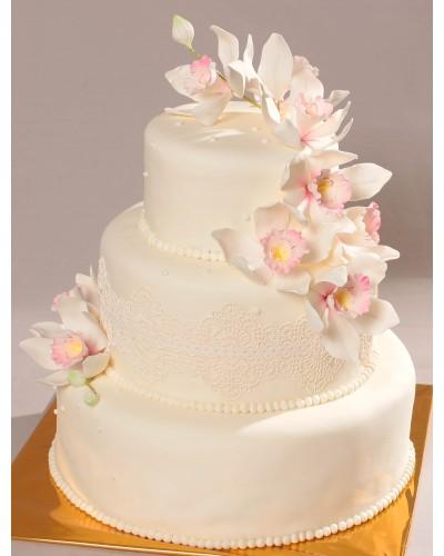 """Торт """"Весільний"""" №162"""
