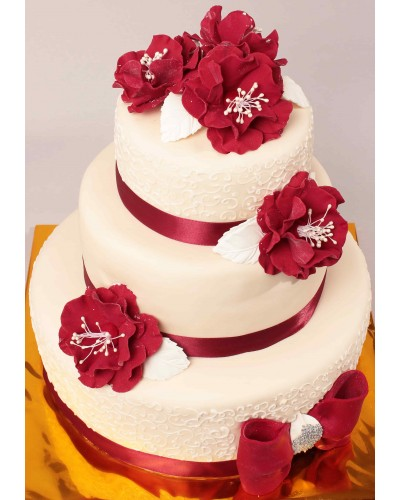 """Торт """"Весільний"""" №165"""