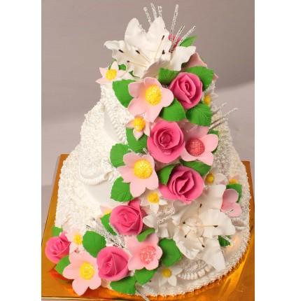 """Торт """"Весільний"""" №168"""
