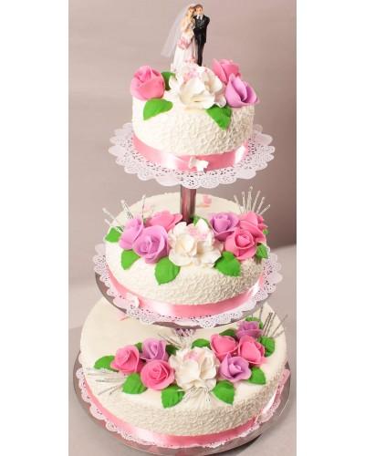 """Торт """"Весільний"""" №170"""