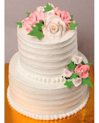 """Торт """"Весільний"""" №173"""