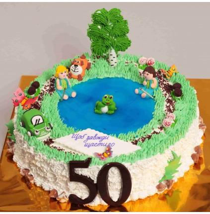 """Торт """"Святковий"""" №300б"""